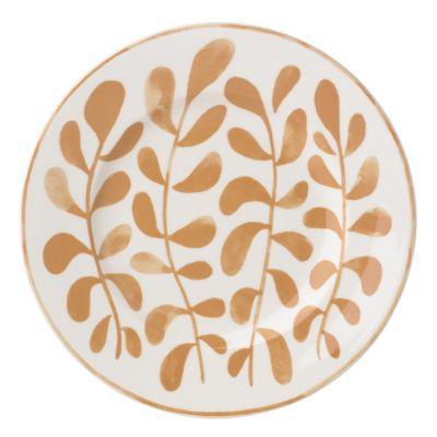 Sienna Lane Leaves Accent Plate