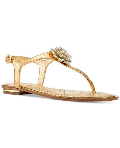 261fe2976 Michael Kors Lucia Thong Sandals   Reviews - Sandals   Flip Flops ...
