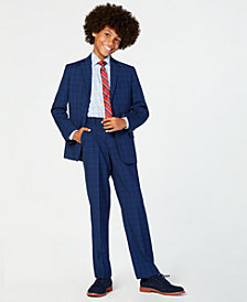 Tommy Hilfiger Big Boys Stretch Suit Jacket, Pants & Shirt Separates