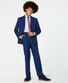 Tommy Hilfiger Big Boys Stretch Suit Jacket, Pants & Shirt Separates