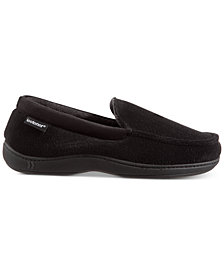 Isotoner Men's Winter Slipper Collection With Memory Foam