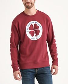 Totally Lucky Unisex Clover Circle Crew Sweatshirt