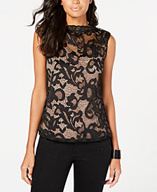 Thalia Sodi Lace Top, Created for Macy's