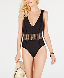 Kenneth Cole New York Find Tranquility One-Piece Swimsuit