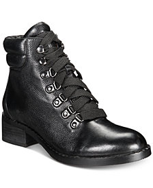 Gentle Souls by Kenneth Cole Women's Brooklyn Lace-Up Booties