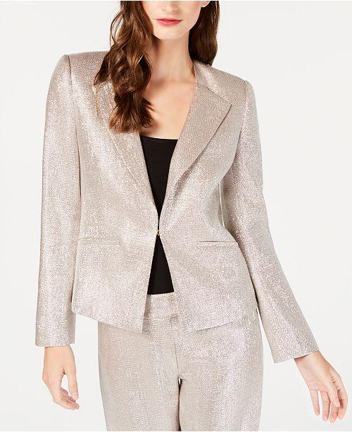 e96846ff80 Rachel Zoe Metallic Daisy Blazer   Reviews - Jackets   Blazers ...