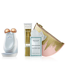 NuFACE 4-Pc. Gold Trinity Complete Skin Toning Set