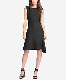 DKNY Asymmetrical A-Line Dress, Created for Macy's