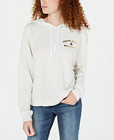 Rebellious One Juniors' Think Happy Hoodie