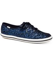 e6fe7e5093e5 Keds for kate spade new york Glitter Lace-Up Sneakers