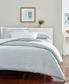 CLOSEOUT! Goodful™ Printed Duvet Sets, 300 Thread Count Hygro Cotton, Created for Macy's
