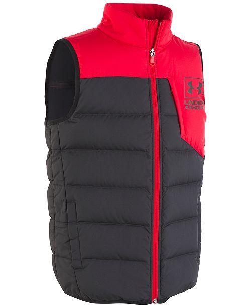 a6cf8db191a81 Under Armour Big Boys UA Swarm Down Vest & Reviews - Coats & Jackets ...