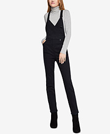 BCBGeneration Surplice Denim Overalls