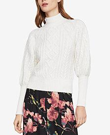 BCBGMAXAZRIA Bubble-Sleeve Sweater