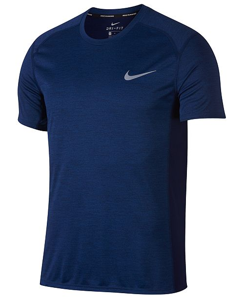 0eae93eac3e Nike Men's Dry Miler Running T-Shirt & Reviews - T-Shirts - Men - Macy's
