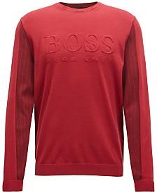 BOSS Men's Logo Graphic Sweater
