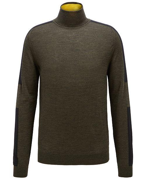 433137685841 Hugo Boss BOSS Men s Virgin Wool Turtleneck Sweater   Reviews ...