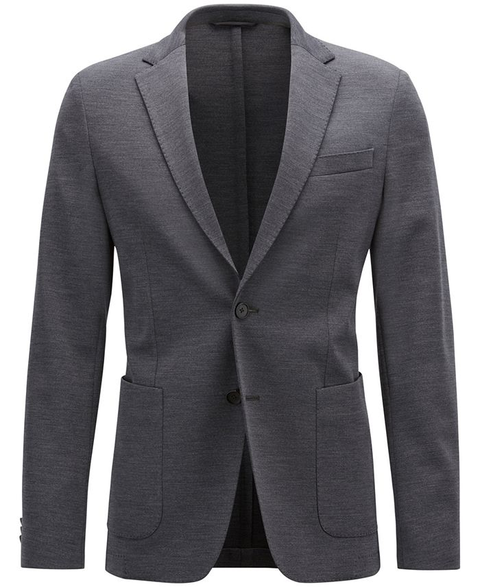Hugo Boss - Men's Slim-Fit Stretch Blazer