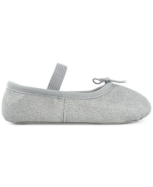 e19f6b0f23ab Flo Dancewear Toddler & Little Girls Sparkle Ballet Shoes & Reviews ...