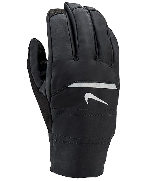 c71b6ed2 Nike Men's Aeroshield Running Gloves; Nike Men's Aeroshield Running Gloves  ...
