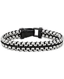 Men's Woven Nylon Cord Bracelet