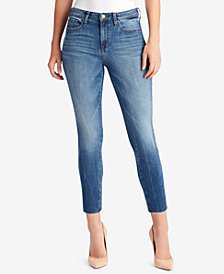 WILLIAM RAST Raw-Hem Ankle Jeans