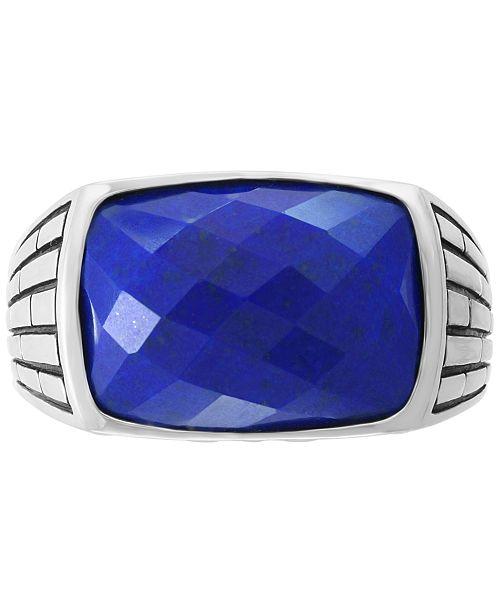 Effy® pour en argent Lapis homme Montres Effy sterling Bague Bagues bijoux Collection homme et Lazuli pour KT3clF1J
