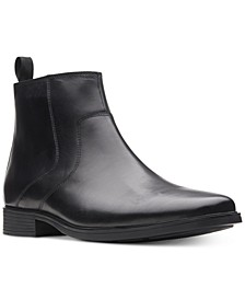 Men's Tilden Zip Waterproof Leather Boots, Created for Macy's