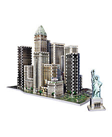 Wrebbit 3D - 2013 Financial District New York 3D Puzzle