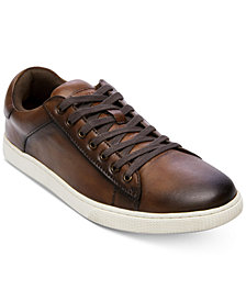 Steve Madden Men's Ruler Leather Low-Top Sneakers
