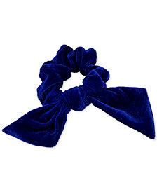 GUESS Velvet Bow Scrunchie