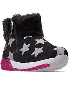 Skechers Little Girls' S Lights: Shimmer Lights - Star Gems Light-Up Boots from Finish Line