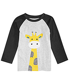 First Impressions Toddler Boys Giraffe Graphic T-Shirt, Created for Macy's