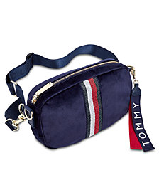 Tommy Hilfiger Isa Metallic Convertible Belt Bag