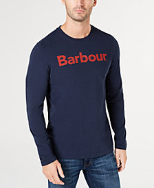 Barbour Men's Roanoke Logo Graphic Long Sleeve T-Shirt