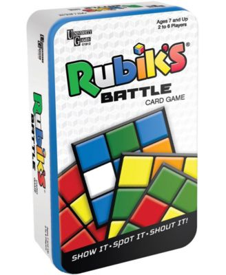 Rubik's Battle Card Game Tin