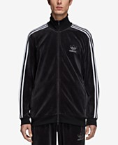 3d0432931857 adidas Men s Originals Adicolor Velour Track Jacket