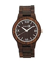 Bighorn Wood Bracelet Watch Brown 46Mm