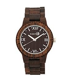 Earth Wood Bighorn Wood Bracelet Watch Brown 46Mm