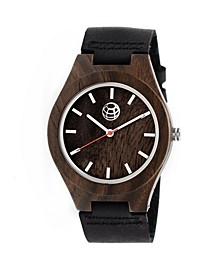 Aztec Leather-Band Watch Olive 43Mm