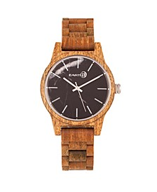Tuckahoe Marble-Dial Wood Bracelet Watch Olive 40Mm