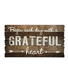 Imax Grateful Heart Wall Decor