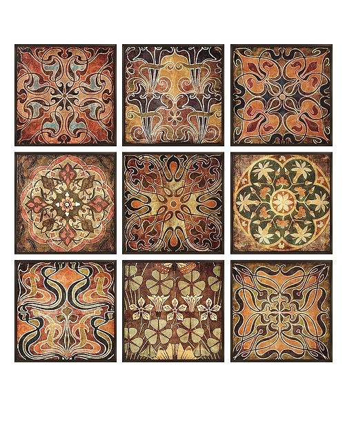 IMAX Tuscan Wall Panels - Set of 9