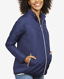Motherhood Maternity Quilted Jacket