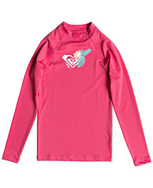 Roxy Big Girls Long-Sleeve Rash Guard