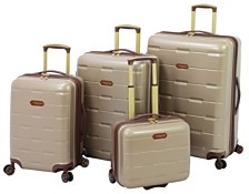 London Fog Brentwood Expandable Hardside Luggage Collection, Created for Macy's