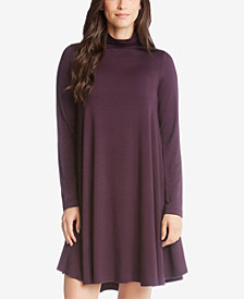 Karen Kane Mock-Neck Trapeze Dress