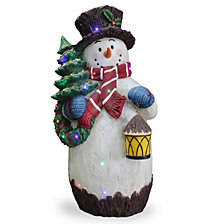 "National Tree Company Pre-Lit 36"" Snowman Decoration"