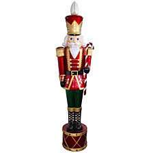 "National Tree Company 65"" Pre-Lit Nutcracker Decoration"