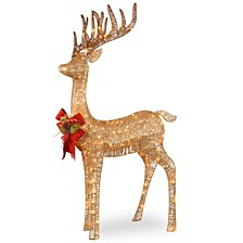 "48"" Pre-lit Standing Reindeer"